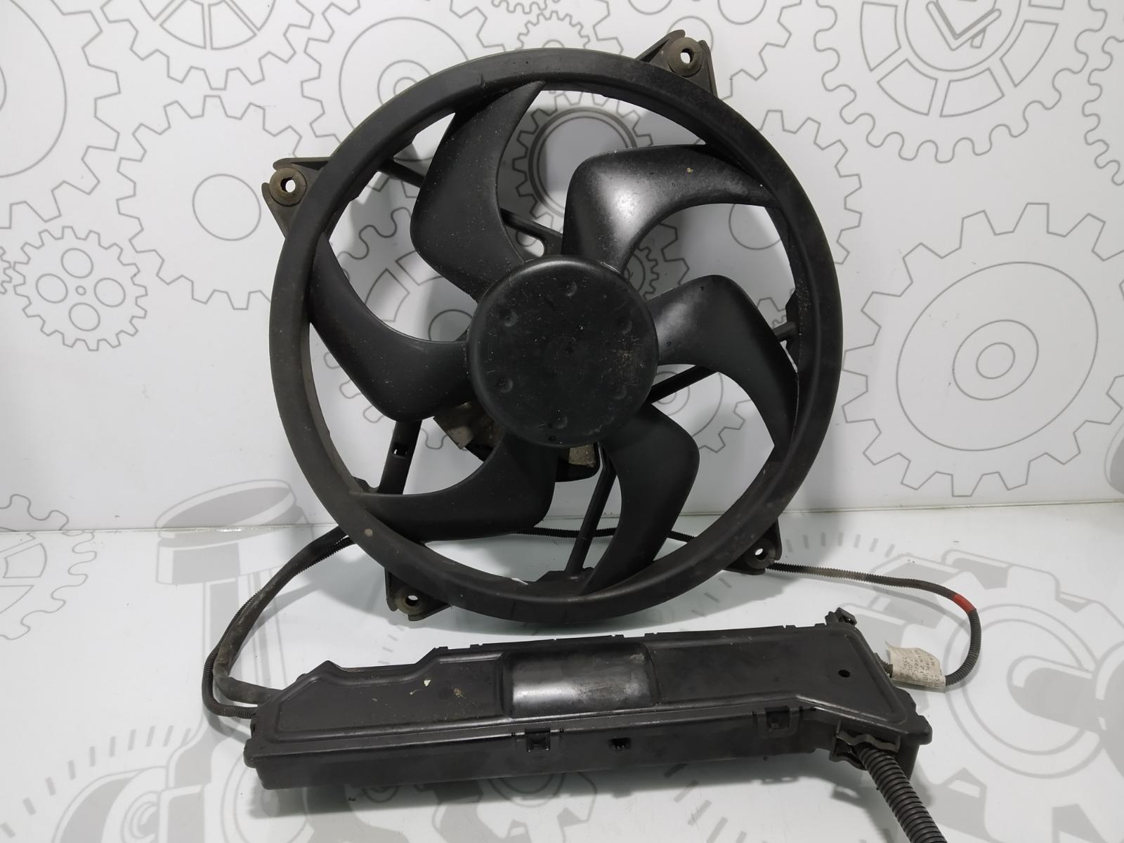 Вентилятор радиатора Peugeot 407 2.0 HDI 2007 (б/у)