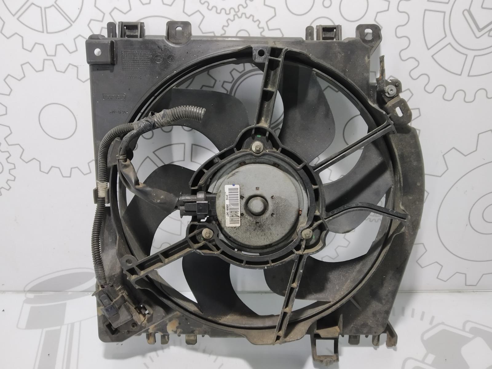 Вентилятор радиатора Nissan Note E11 1.5 DCI 2009 (б/у)