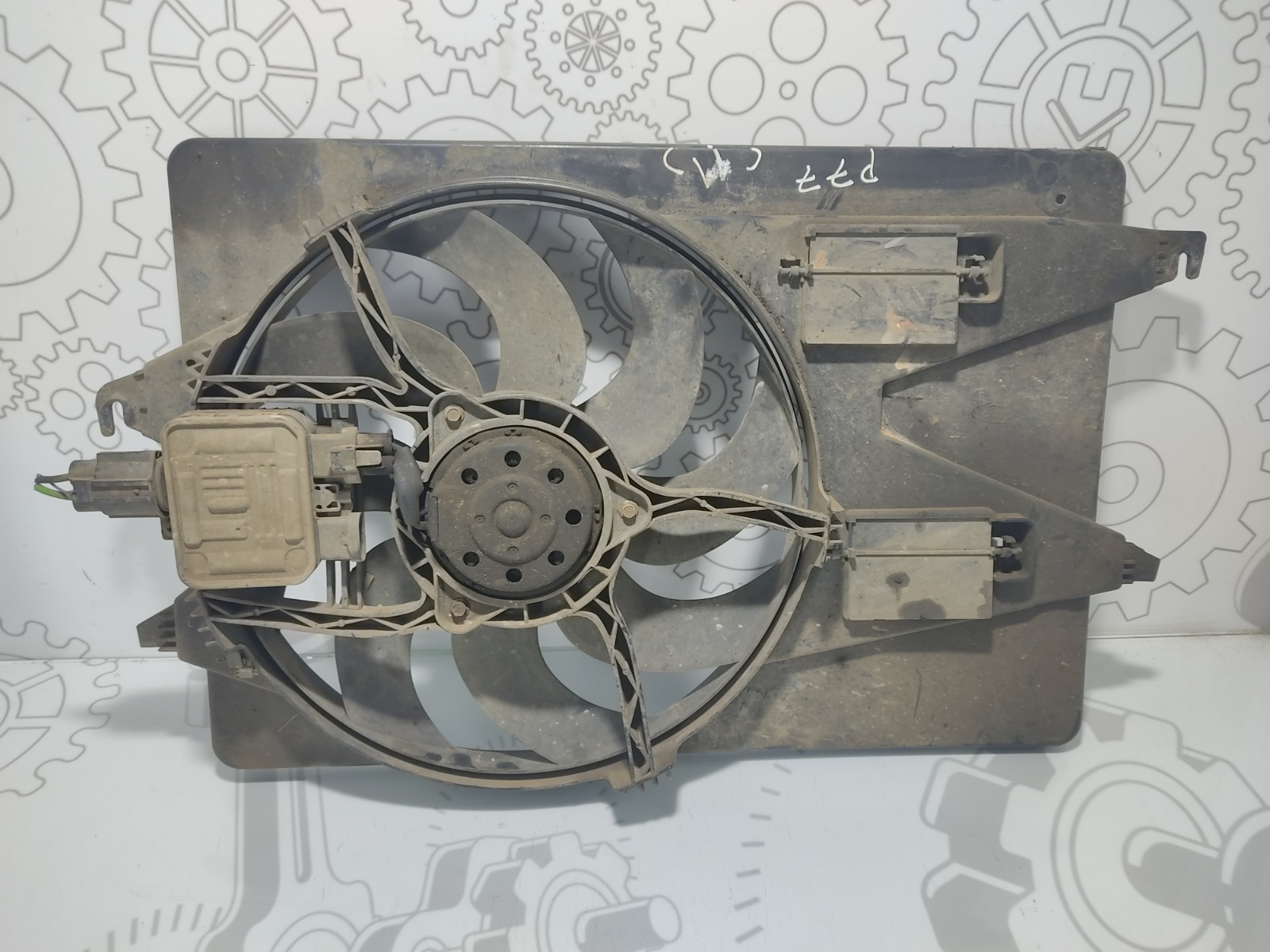 Вентилятор радиатора Ford Mondeo 2.0 TDCI 2006 (б/у)
