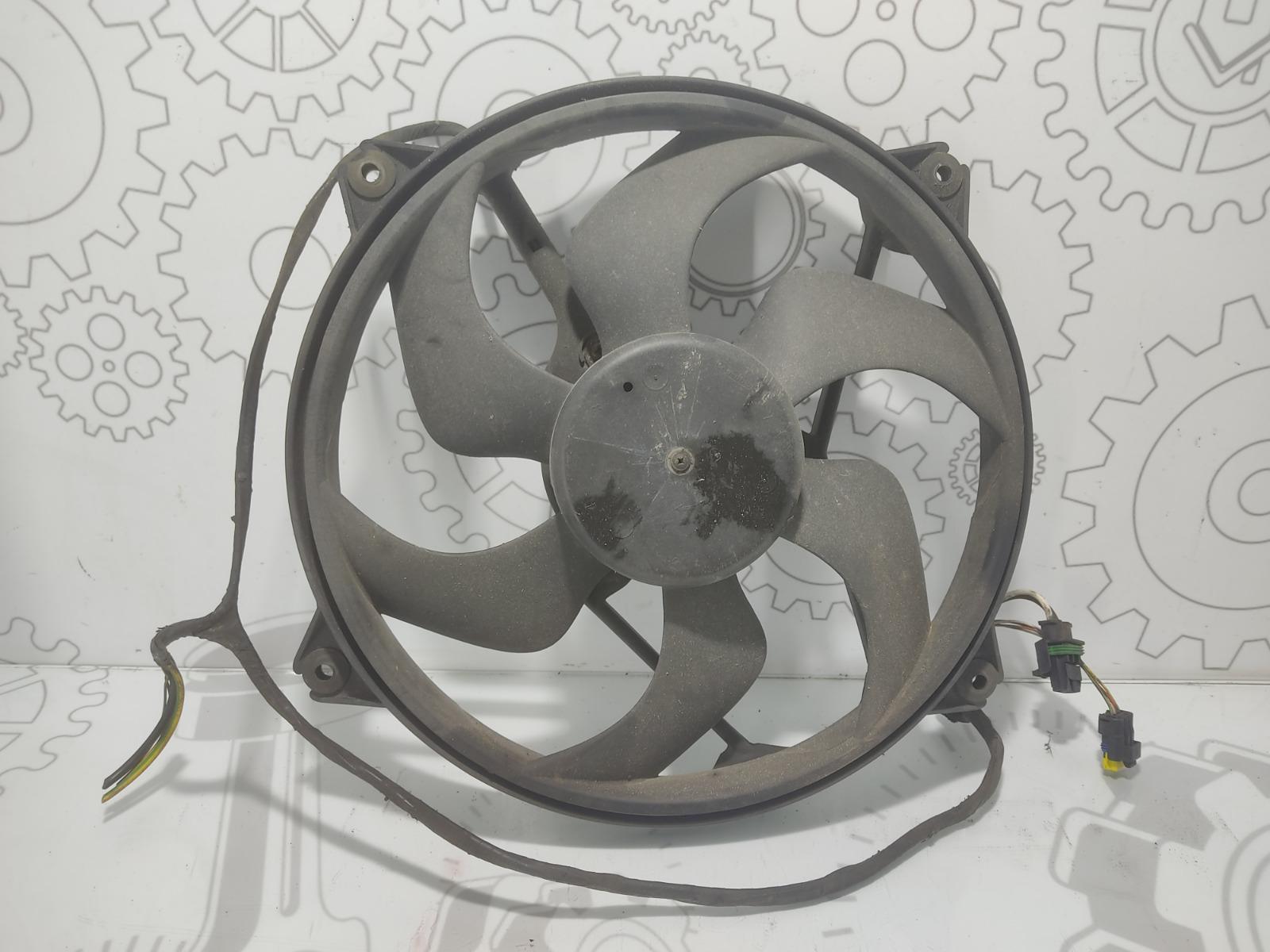 Вентилятор радиатора Citroen Xsara Picasso 1.6 HDI 2007 (б/у)