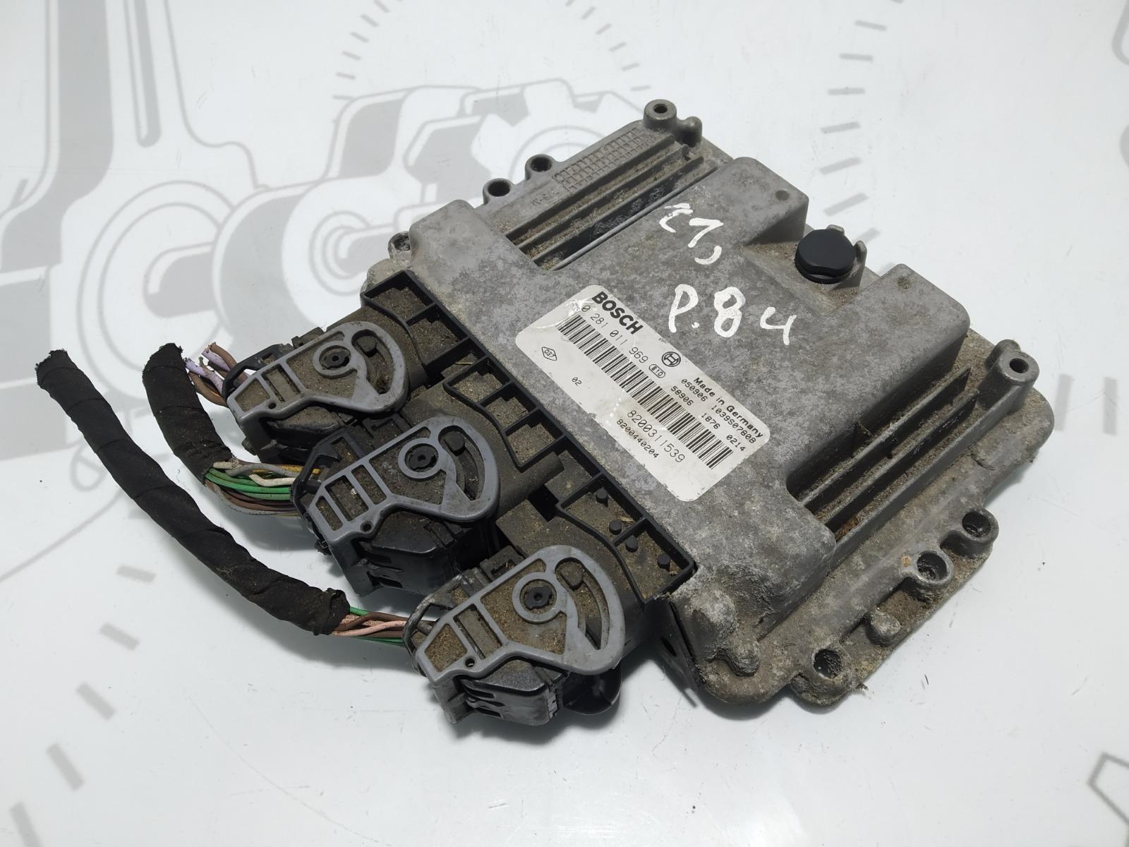 Блок управления двигателем Renault Laguna 1.9 DCI 2005 (б/у)