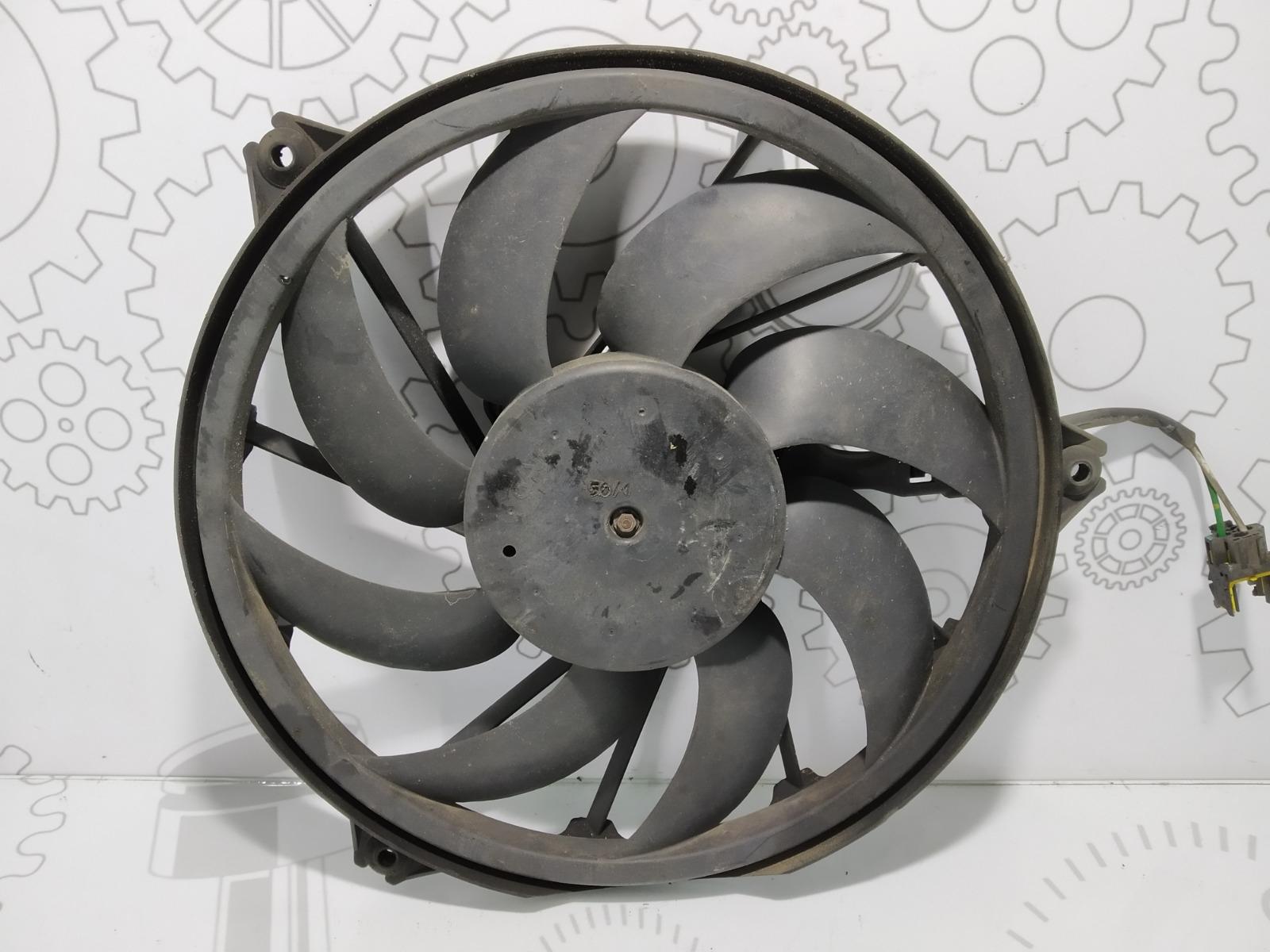 Вентилятор радиатора Peugeot 206 1.4 I 2002 (б/у)