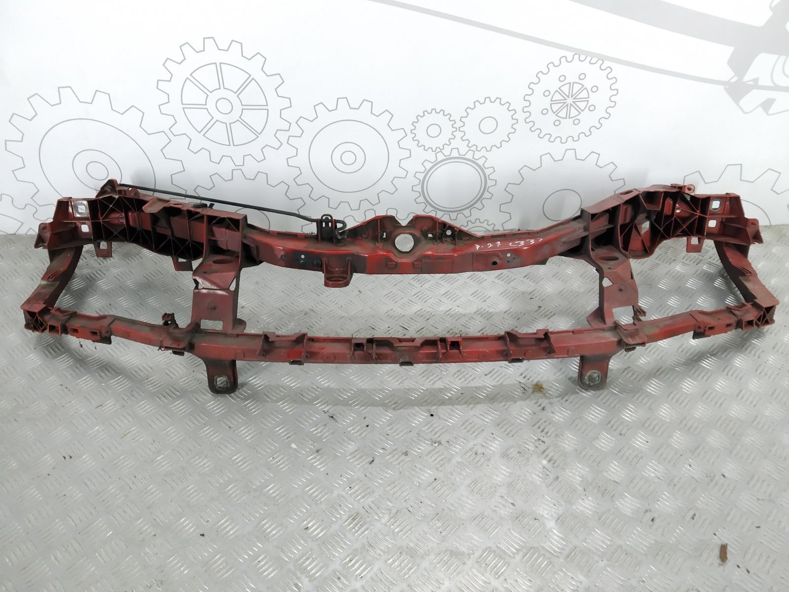 Передняя панель крепления облицовки (телевизор) Ford Focus 1.6 TDCI 2009 (б/у)