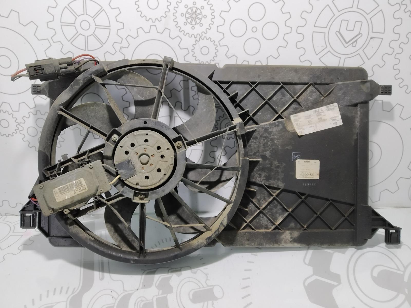 Вентилятор радиатора Ford C-Max 1.8 I 2003 (б/у)