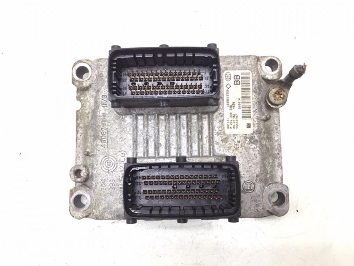 Блок управления двигателем Opel Astra H 1.4 I 2006 (б/у)