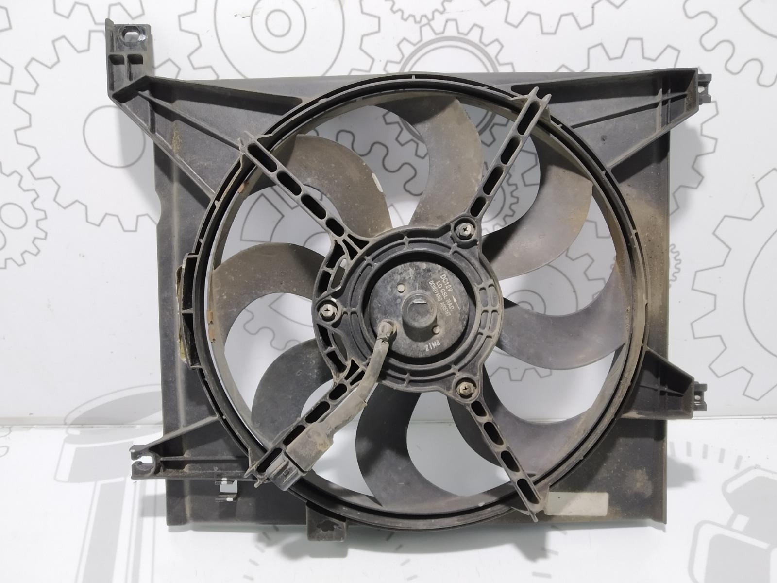 Вентилятор радиатора Kia Cerato 1.6 I 2004 (б/у)