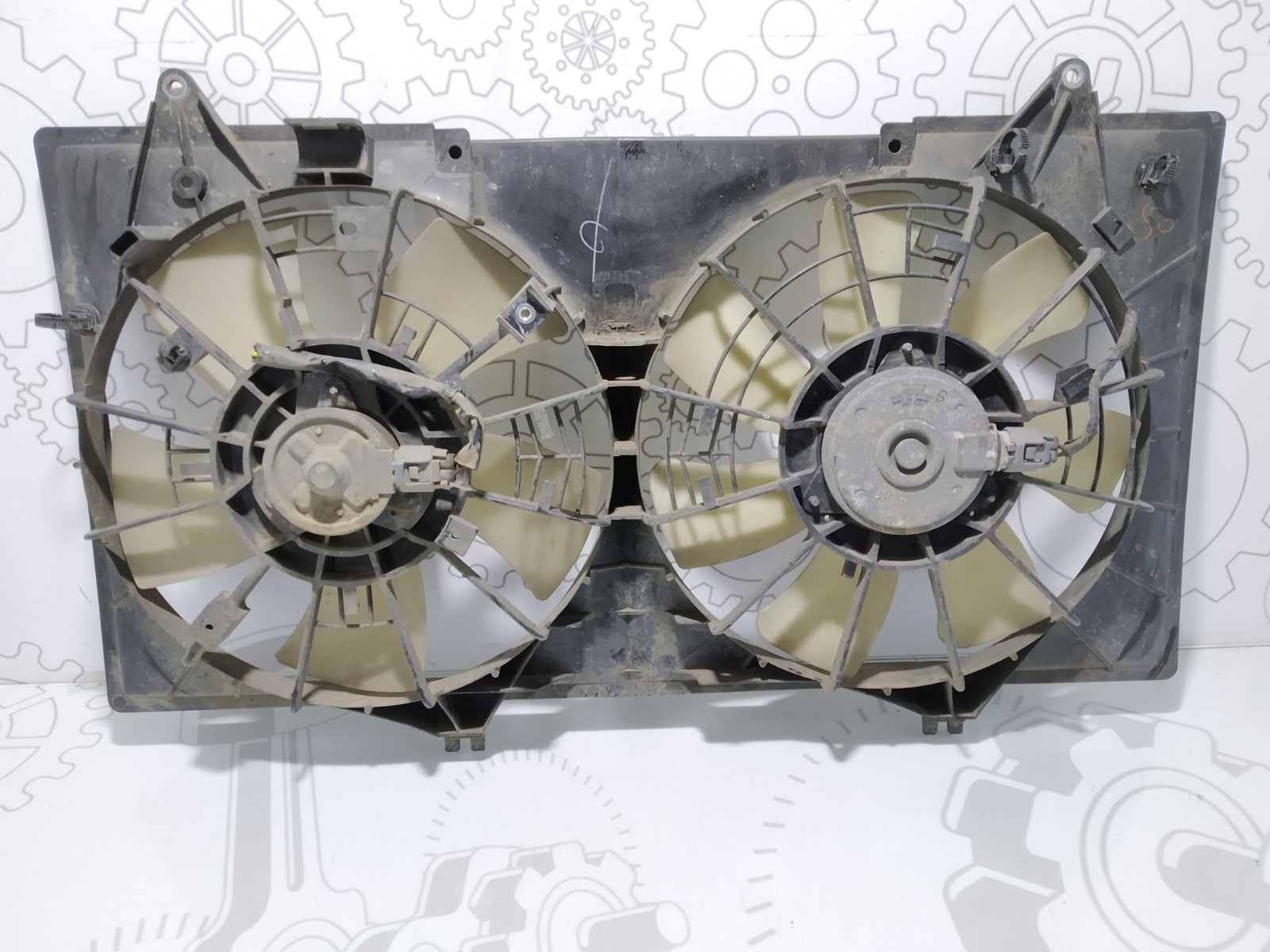 Вентилятор радиатора Mazda 6 1.8 I 2007 (б/у)