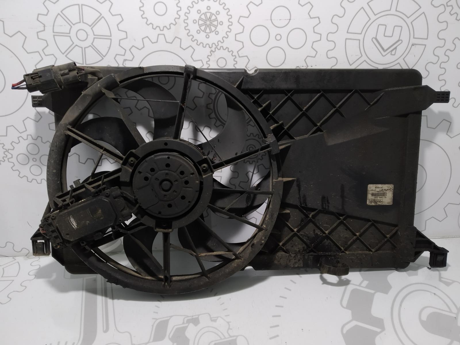 Вентилятор радиатора Ford Focus 1.6 TDCI 2007 (б/у)