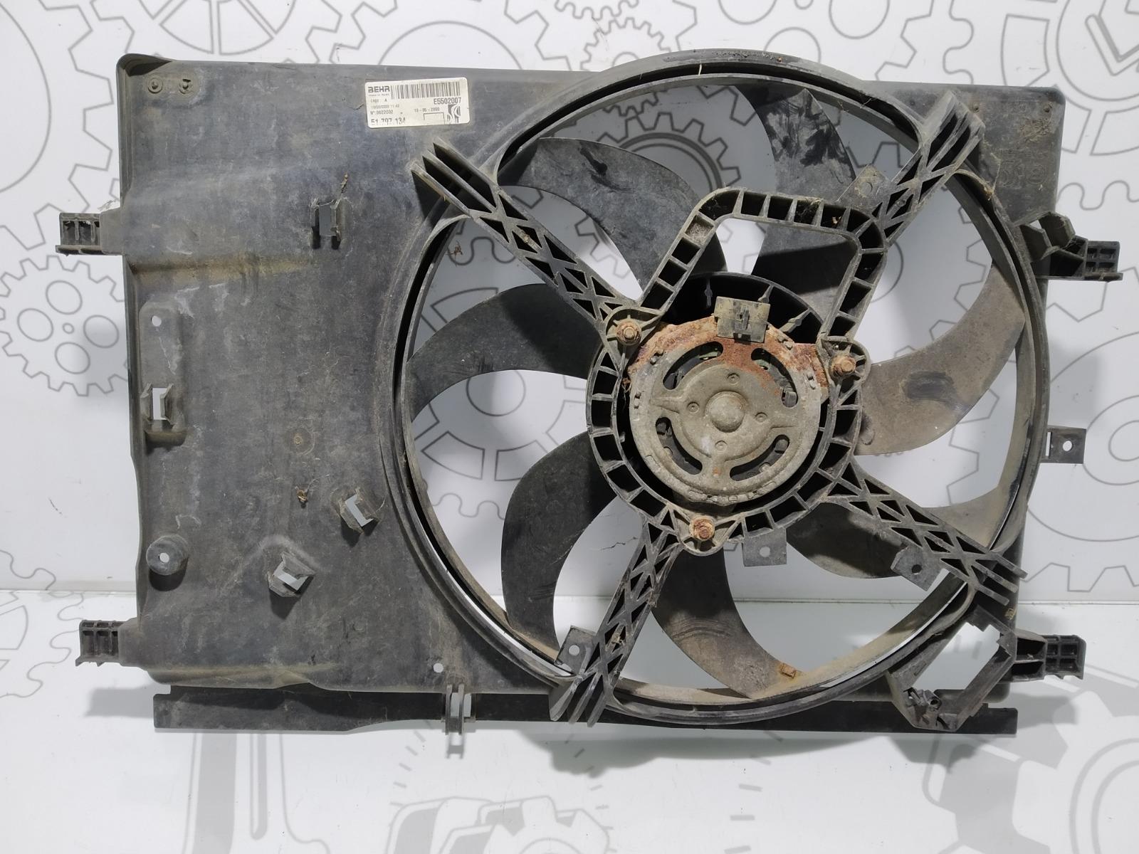 Вентилятор радиатора Fiat Grande Punto 1.4 I 2009 (б/у)