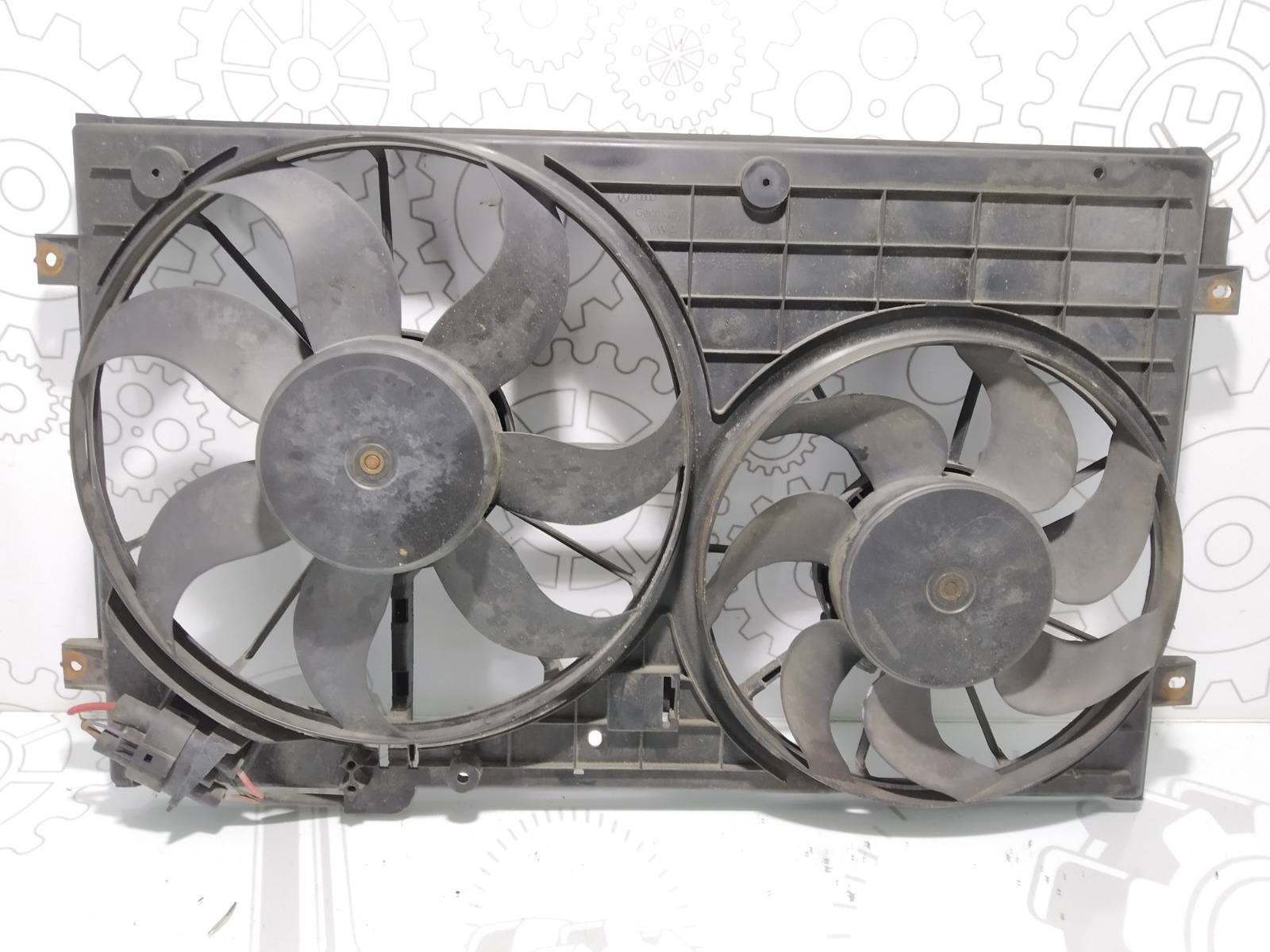Вентилятор радиатора Skoda Octavia 1.9 TDI 2005 (б/у)