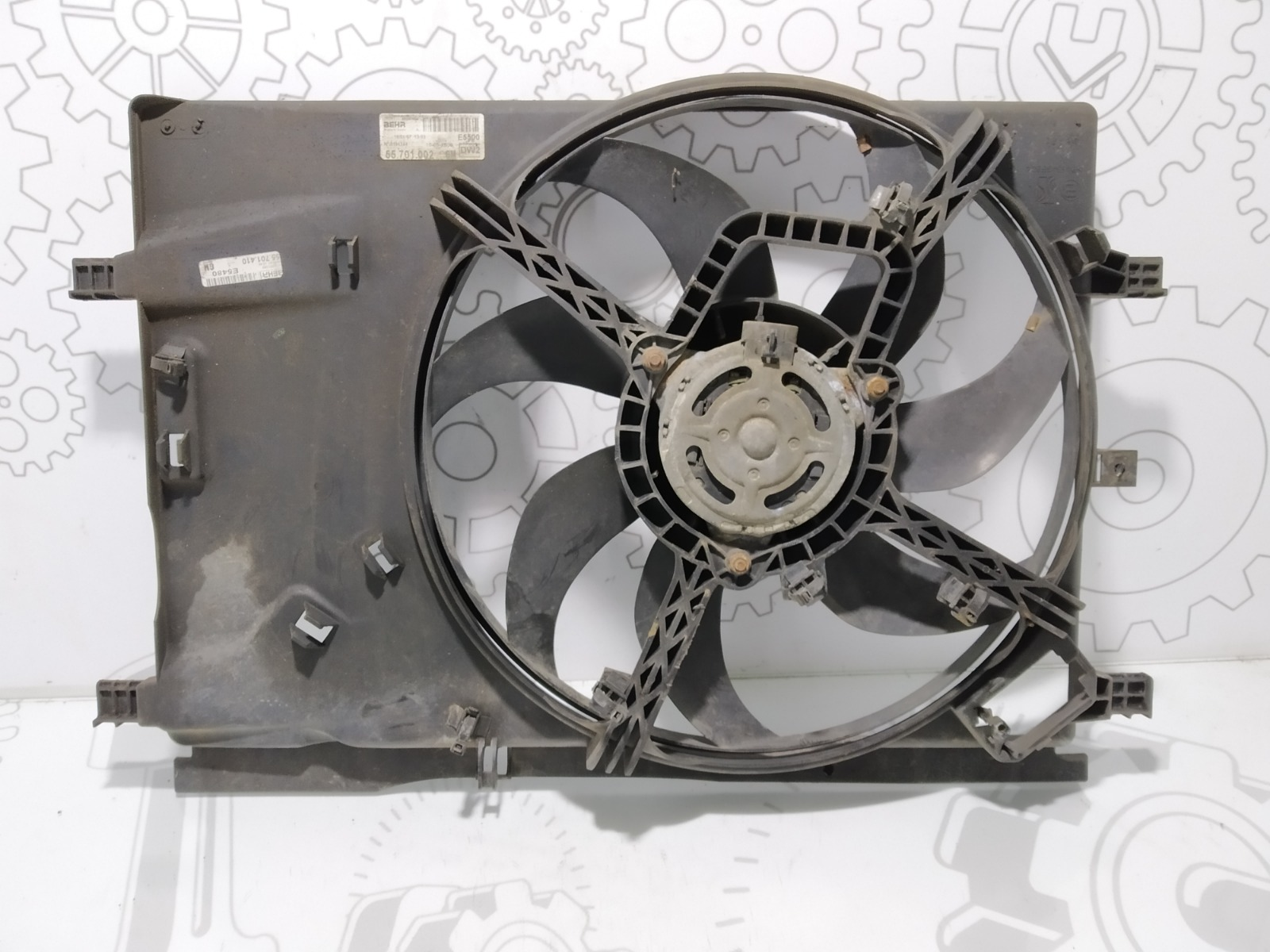 Вентилятор радиатора Opel Corsa D 1.2 I 2007 (б/у)