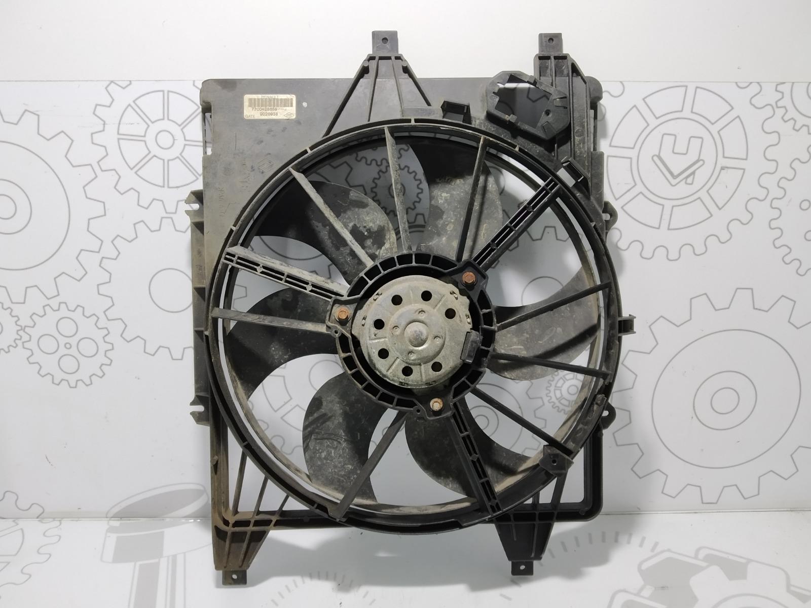 Вентилятор радиатора Renault Kangoo 1.2 I 2007 (б/у)