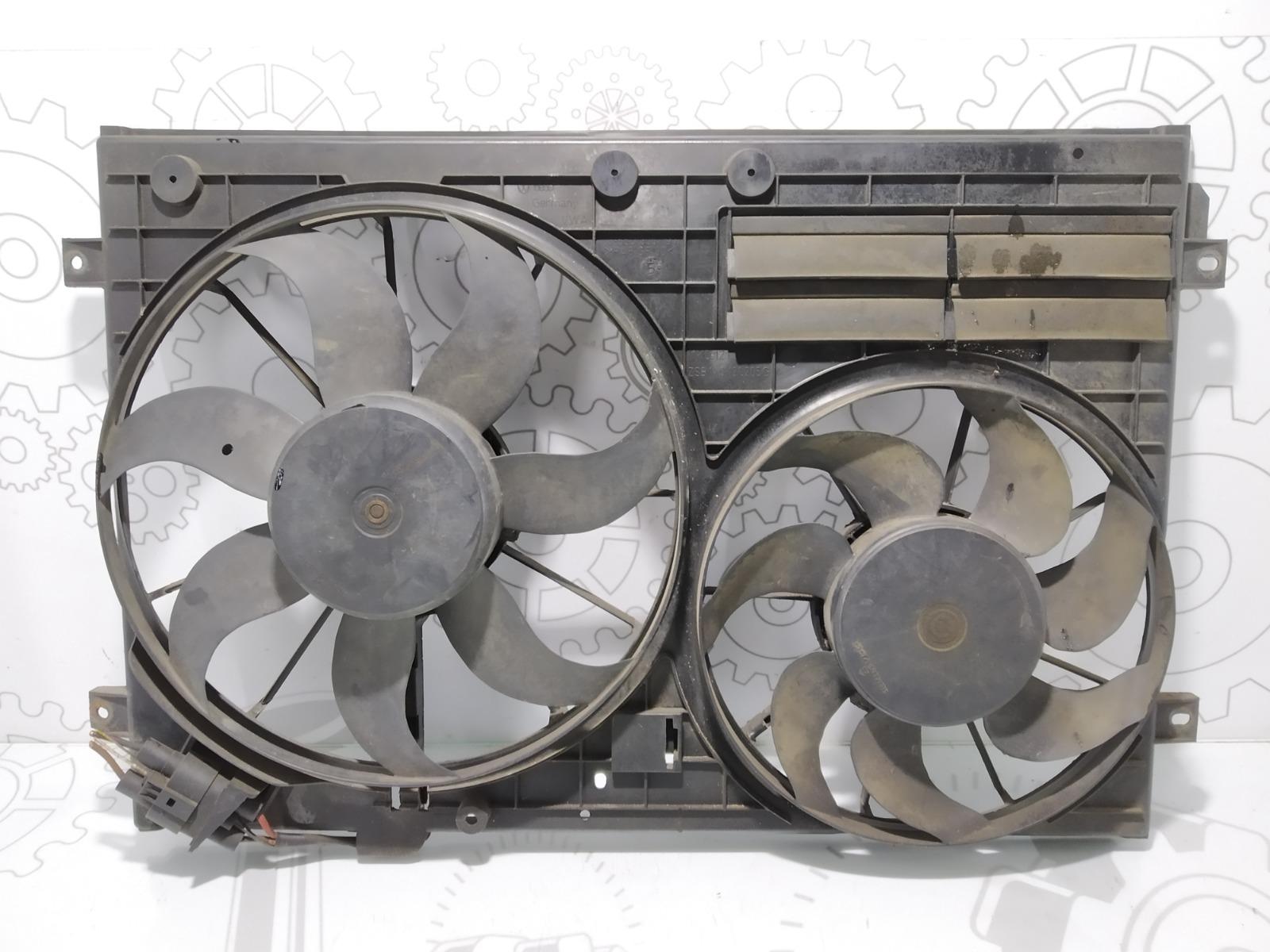 Вентилятор радиатора Volkswagen Passat B6 2.0 TDI 2005 (б/у)