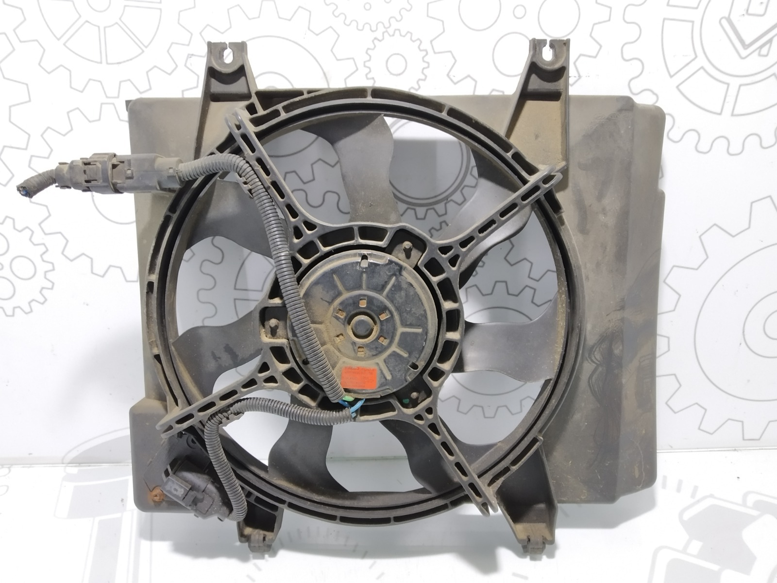 Вентилятор радиатора Kia Picanto 1.1 I 2004 (б/у)