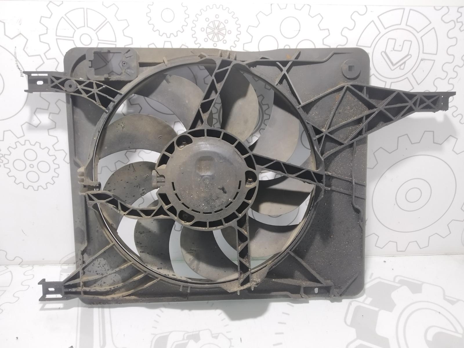 Вентилятор радиатора Nissan Qashqai 2.0 DCI 2008 (б/у)