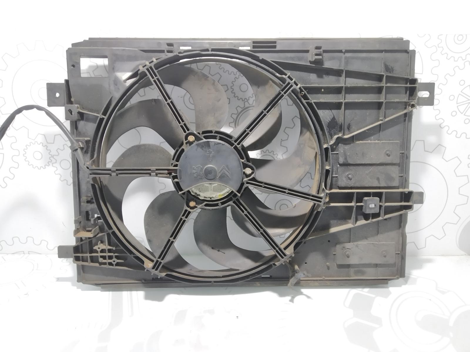 Вентилятор радиатора Citroen C4 Grand Picasso 1.6 HDI 2014 (б/у)