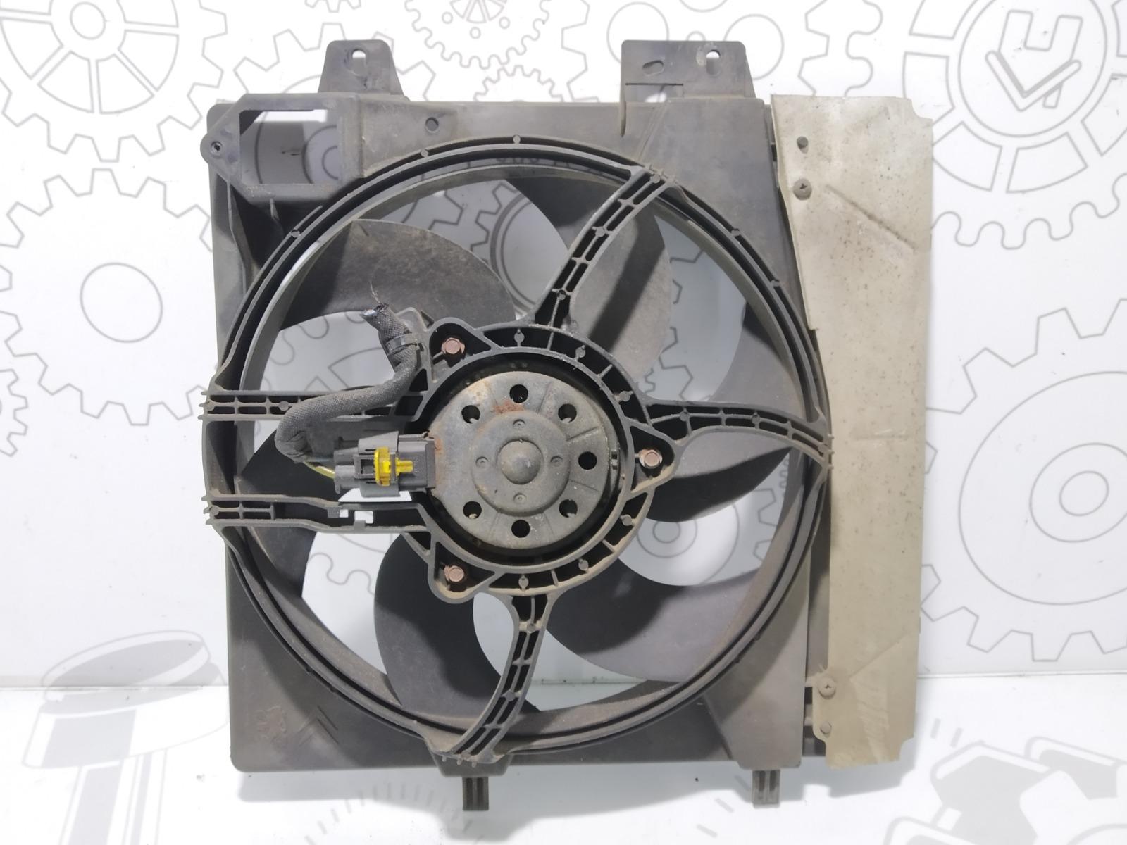 Вентилятор радиатора Peugeot 207 1.6 I 2008 (б/у)