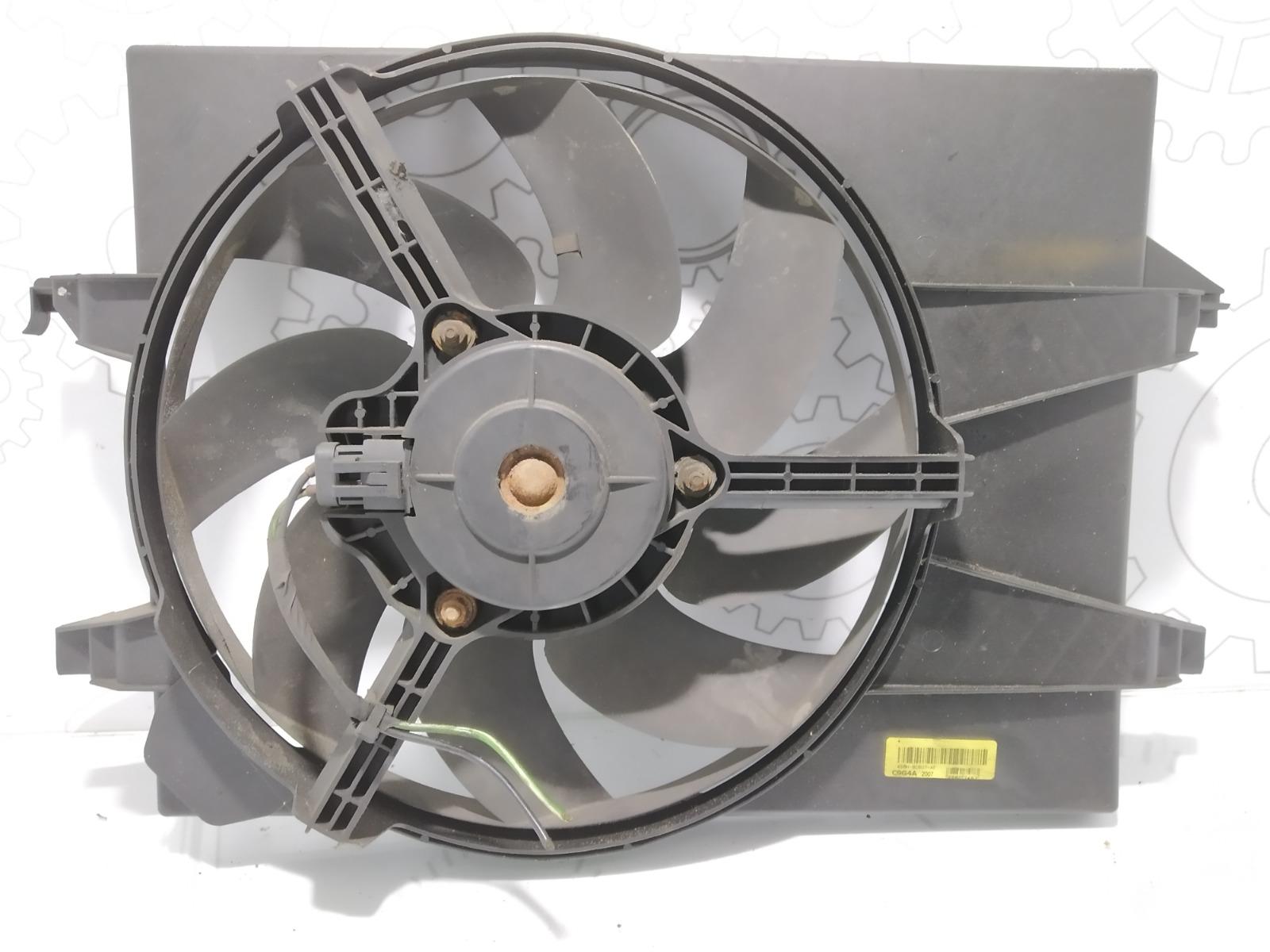 Вентилятор радиатора Ford Fiesta 1.4 TDCI 2007 (б/у)