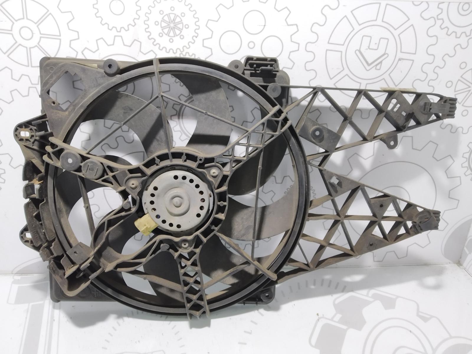 Вентилятор радиатора Opel Combo D 1.3 CDTI 2014 (б/у)