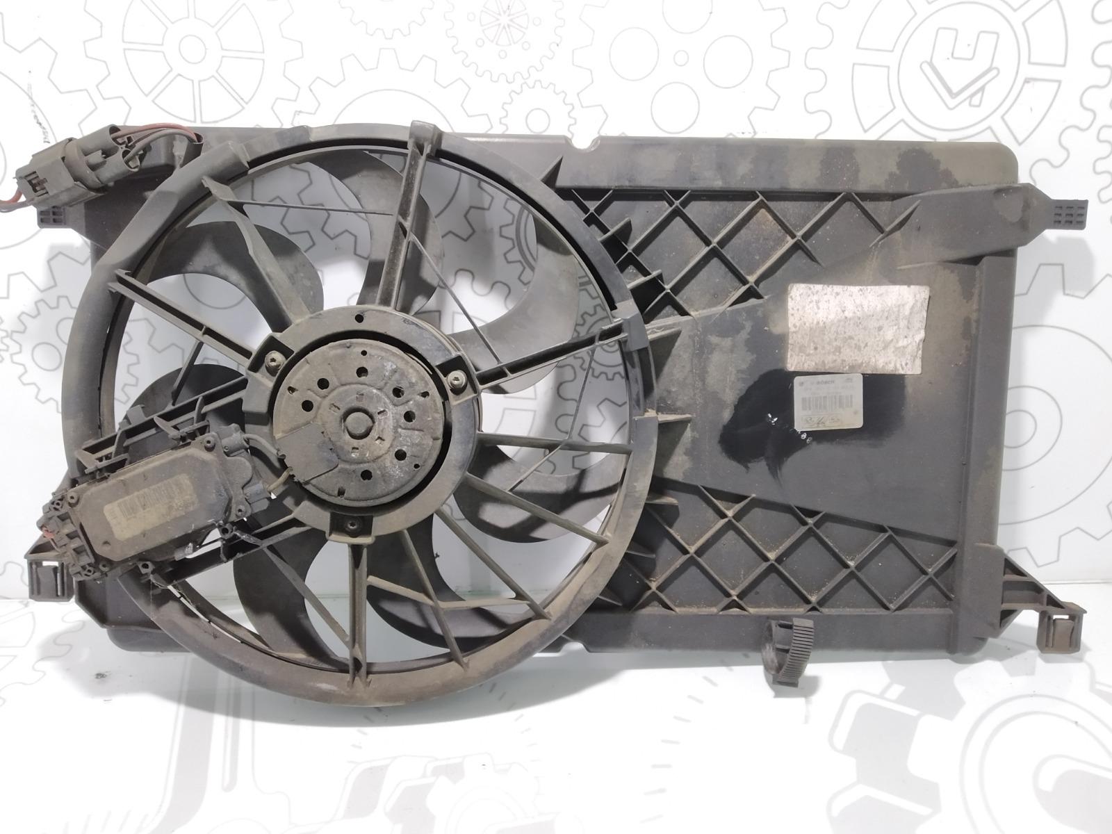 Вентилятор радиатора Ford Focus 1.8 TDCI 2009 (б/у)