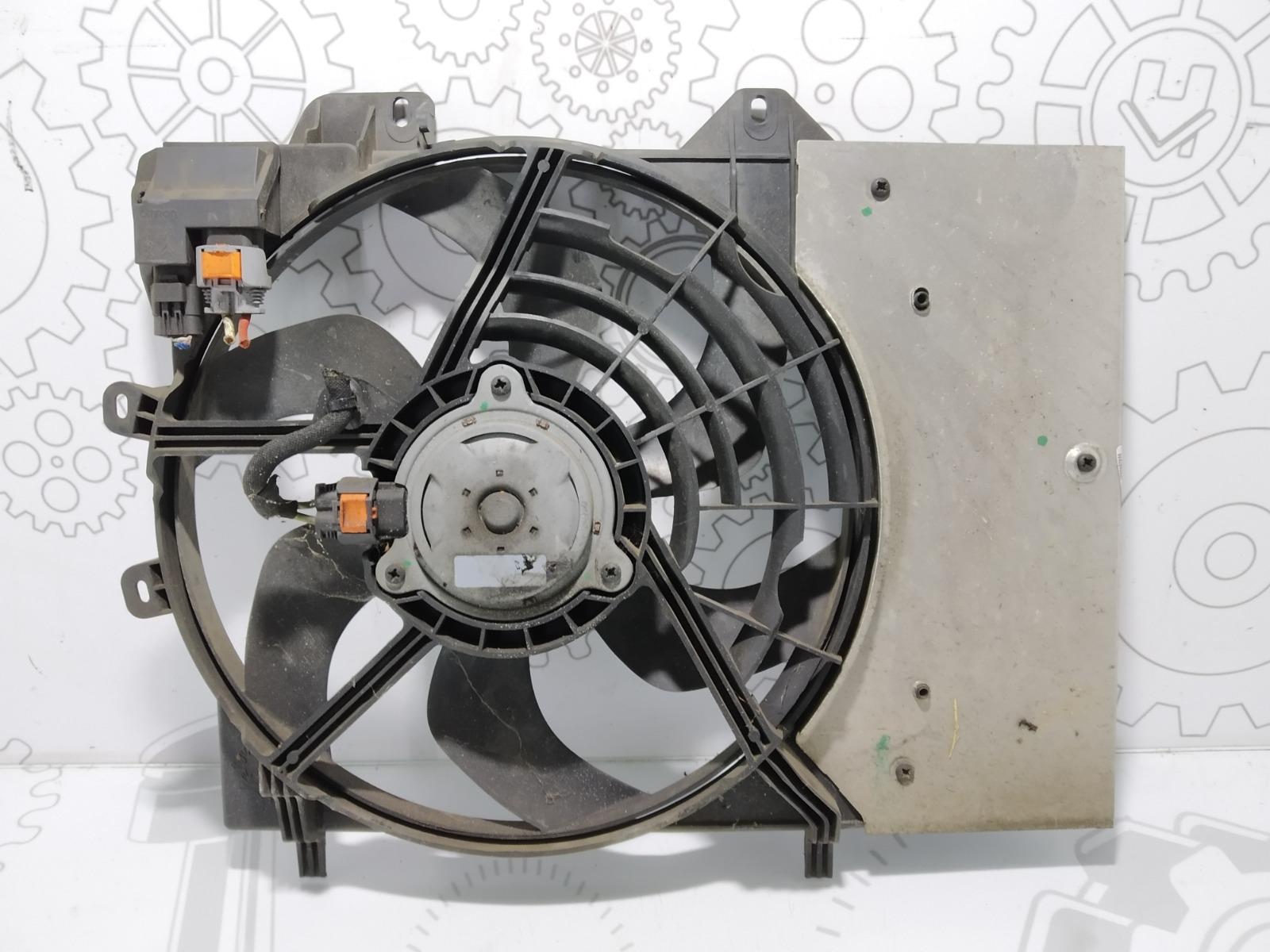 Вентилятор радиатора Citroen C3 Picasso 1.6 HDI 2010 (б/у)