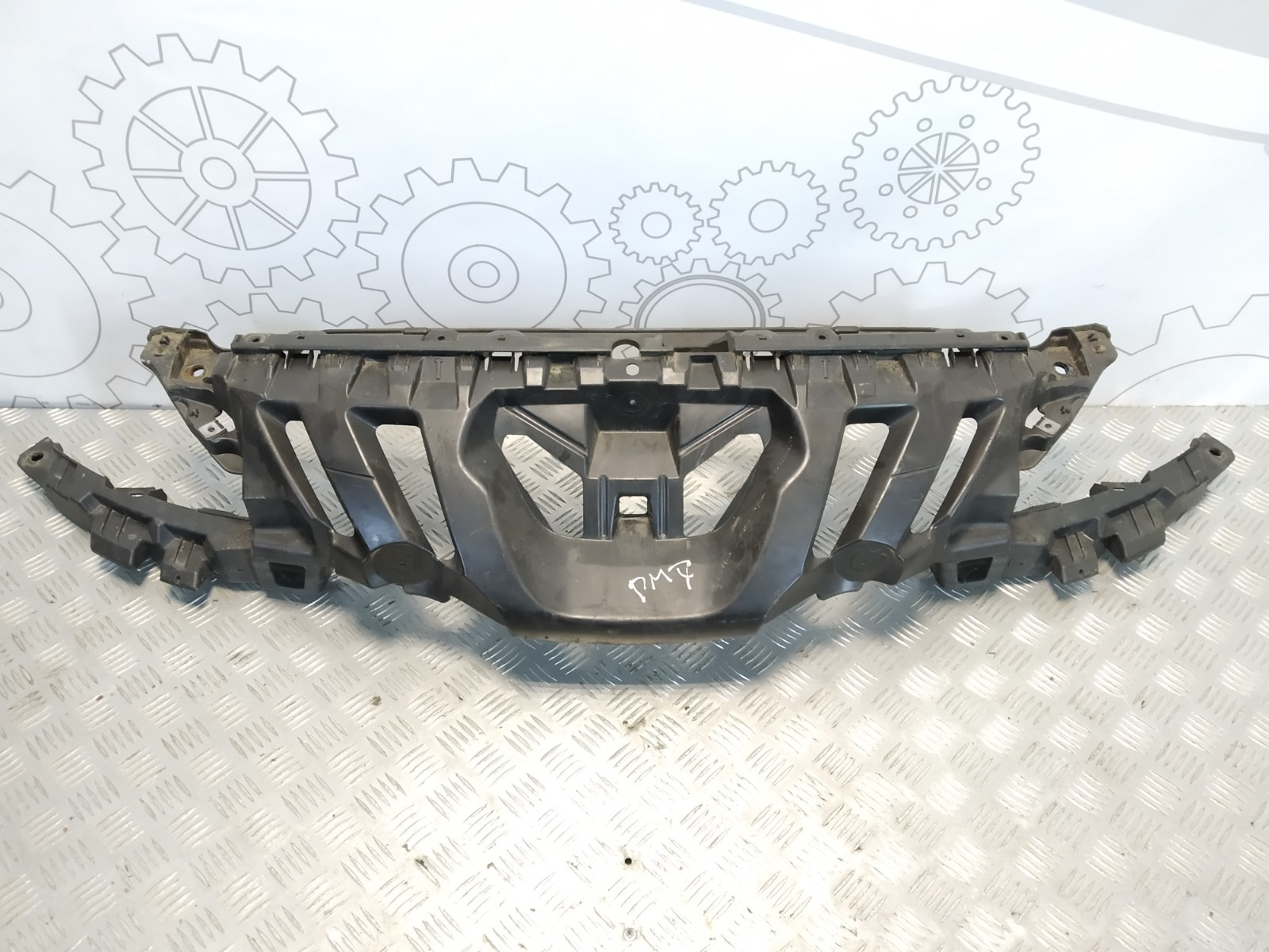 Передняя панель крепления облицовки (телевизор) Peugeot 308 T7 1.6 HDI 2008 (б/у)