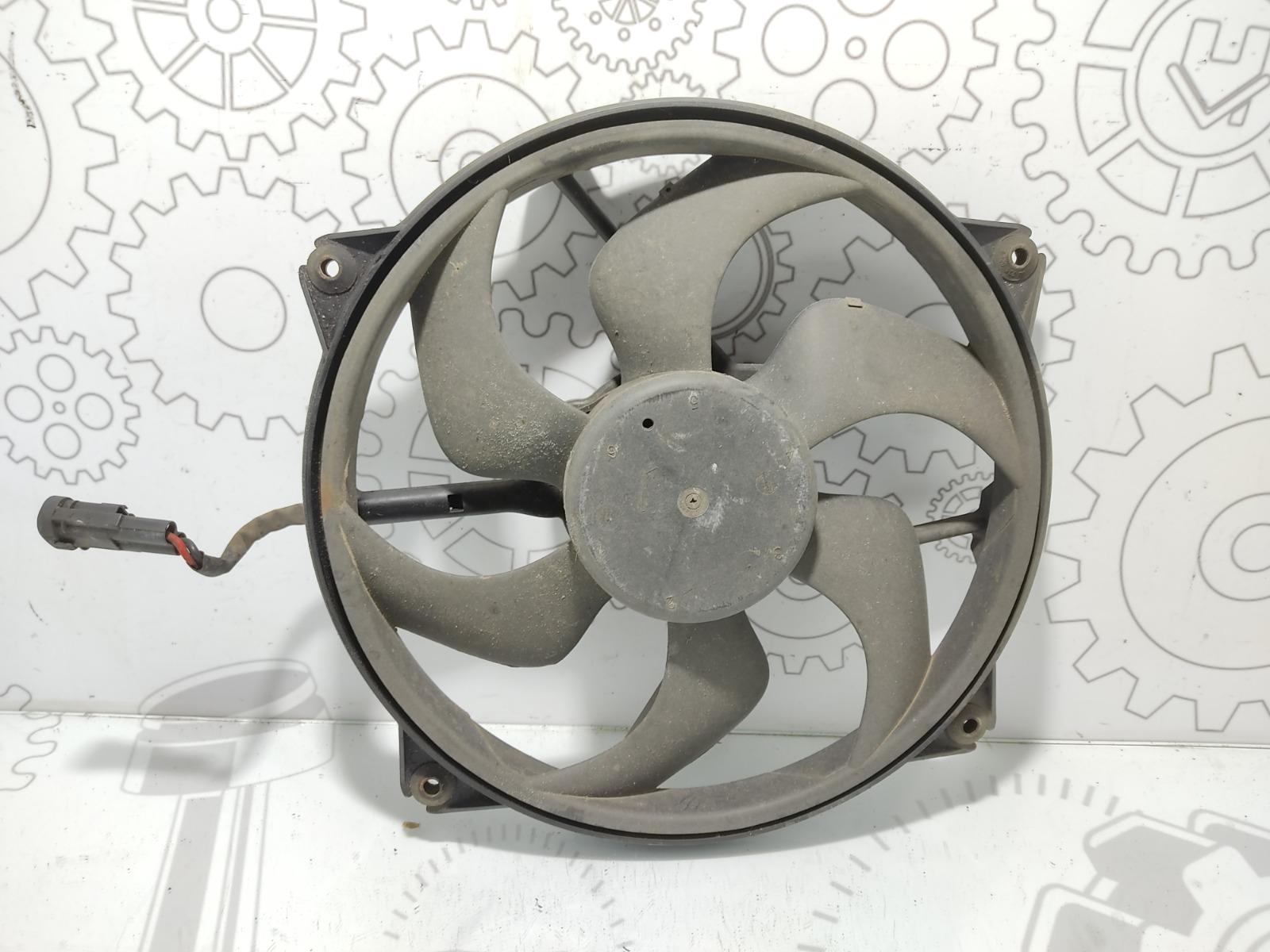 Вентилятор радиатора Peugeot 307 2.0 HDI 2003 (б/у)