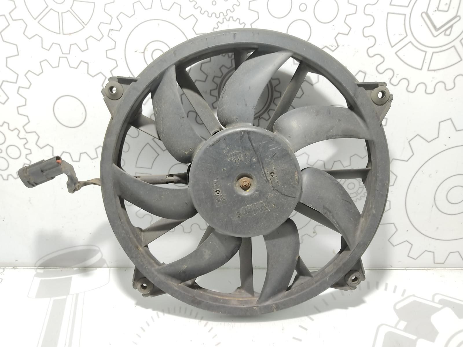 Вентилятор радиатора Peugeot 307 1.6 HDI 2007 (б/у)