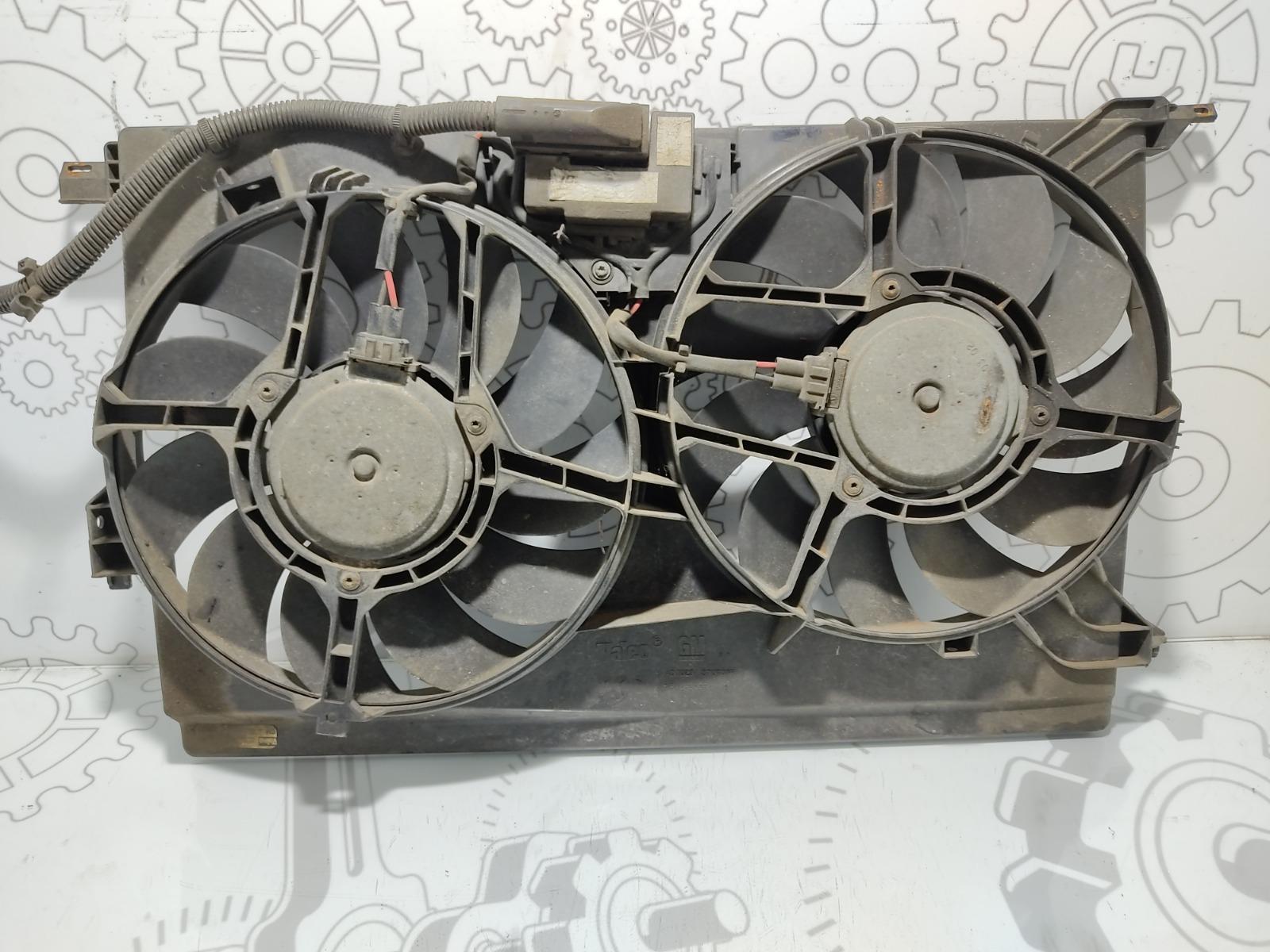 Вентилятор радиатора Opel Vectra C 2.2 I 2002 (б/у)