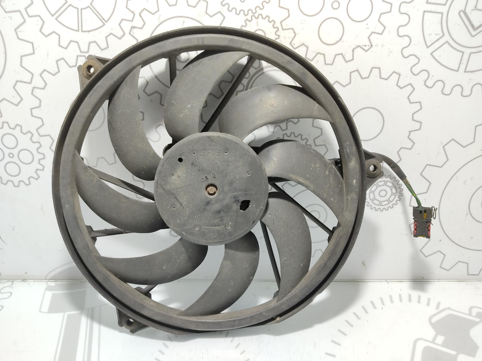 Вентилятор радиатора Peugeot 206 1.6 I 2002 (б/у)