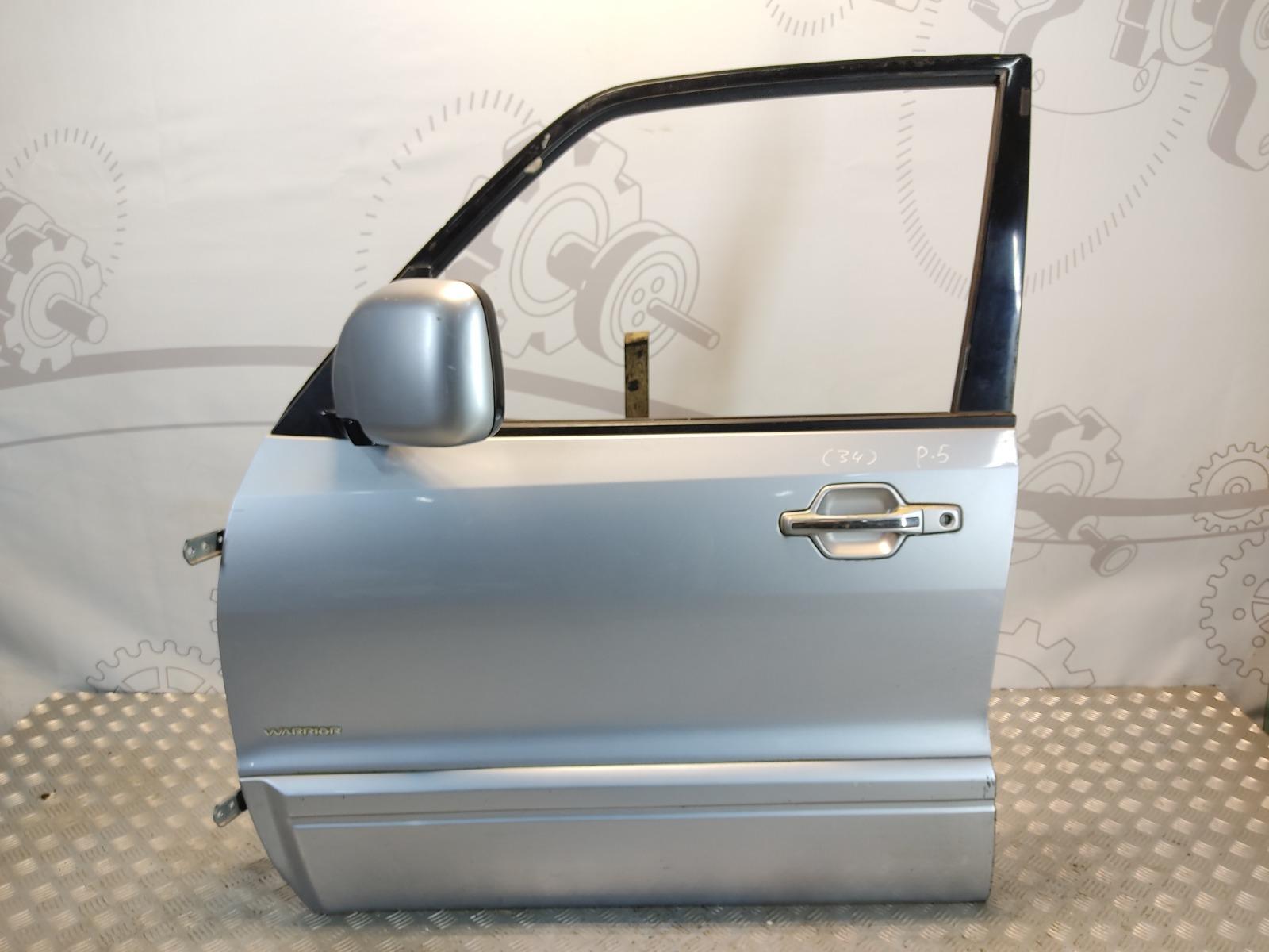 Дверь передняя левая Mitsubishi Pajero 3.2 DID 2003 (б/у)