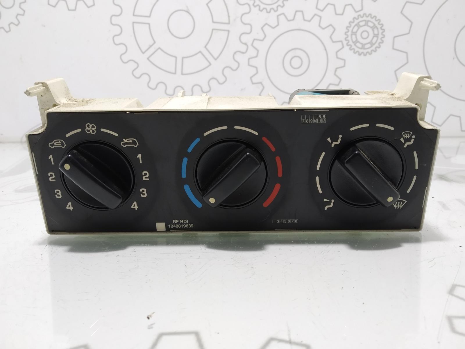 Блок управления печки/климат-контроля Peugeot Partner 2.0 HDI 2003 (б/у)