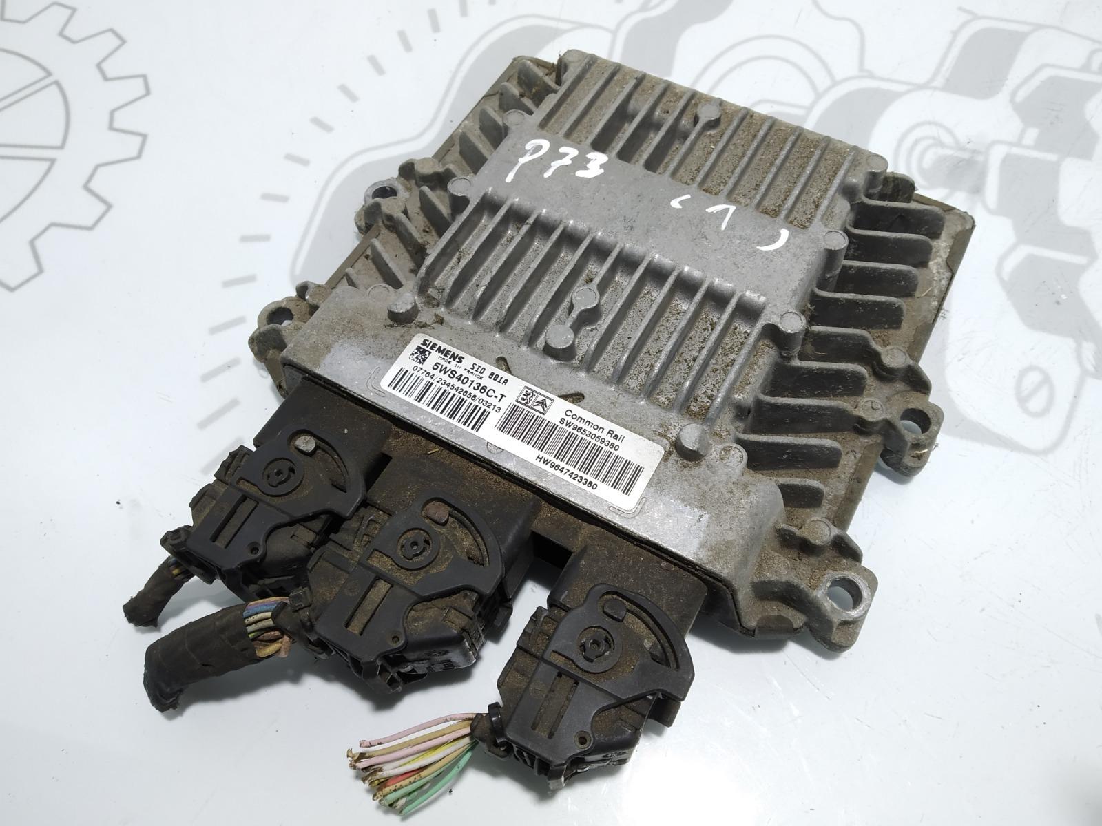 Блок управления двигателем Peugeot Partner 2.0 HDI 2003 (б/у)