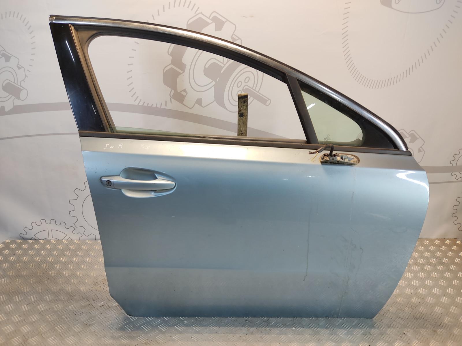 Дверь передняя правая Peugeot 508 1.6 HDI 2013 (б/у)