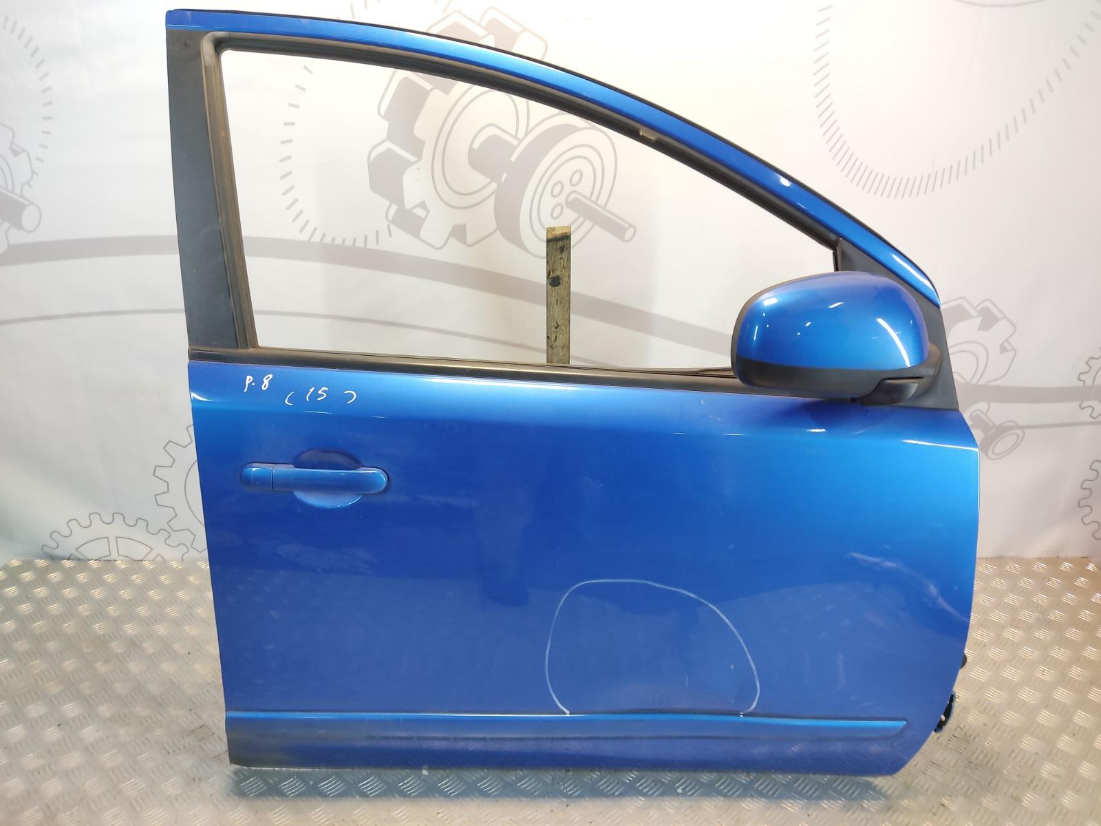 Дверь передняя правая Nissan Note E11 1.5 DCI 2009 (б/у)