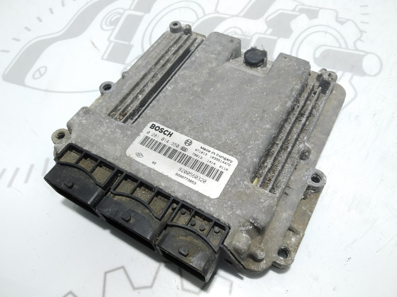 Блок управления двигателем Renault Grand Espace 2.0 DCI 2008 (б/у)