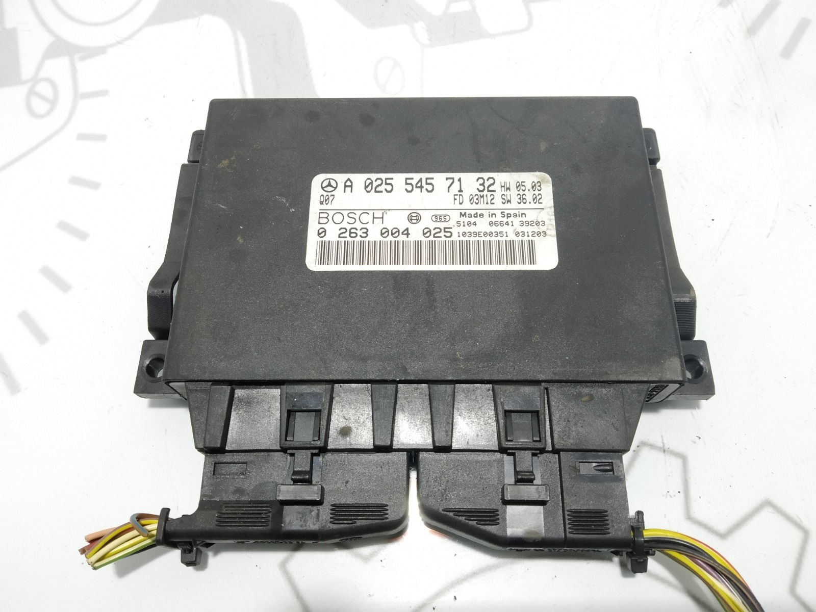 Блок управления парктрониками Mercedes E W211 3.2 CDI 2004 (б/у)