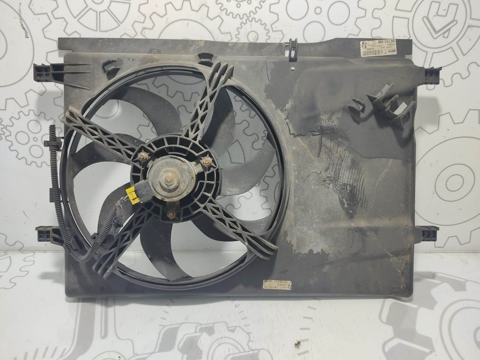 Вентилятор радиатора Fiat Grande Punto 1.4 I 2007 (б/у)