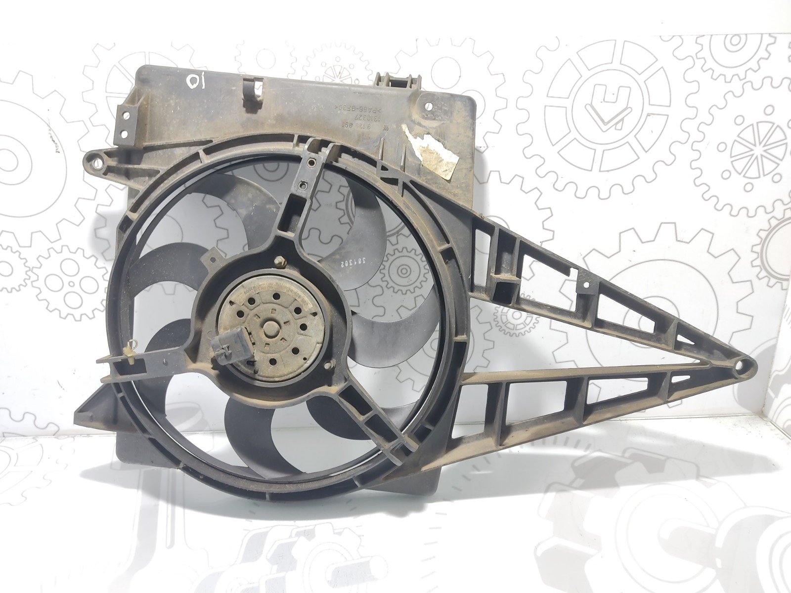Вентилятор радиатора Opel Omega B 2.2 I 2003 (б/у)
