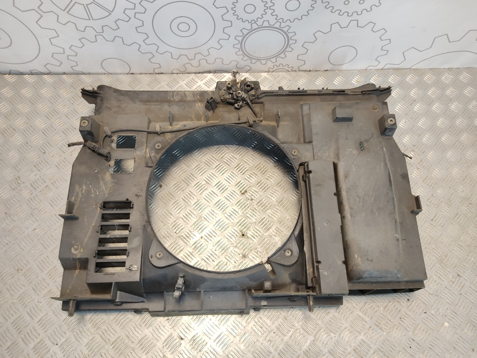 Диффузор вентилятора Fiat Ulysse 2.0 I 2005 (б/у)