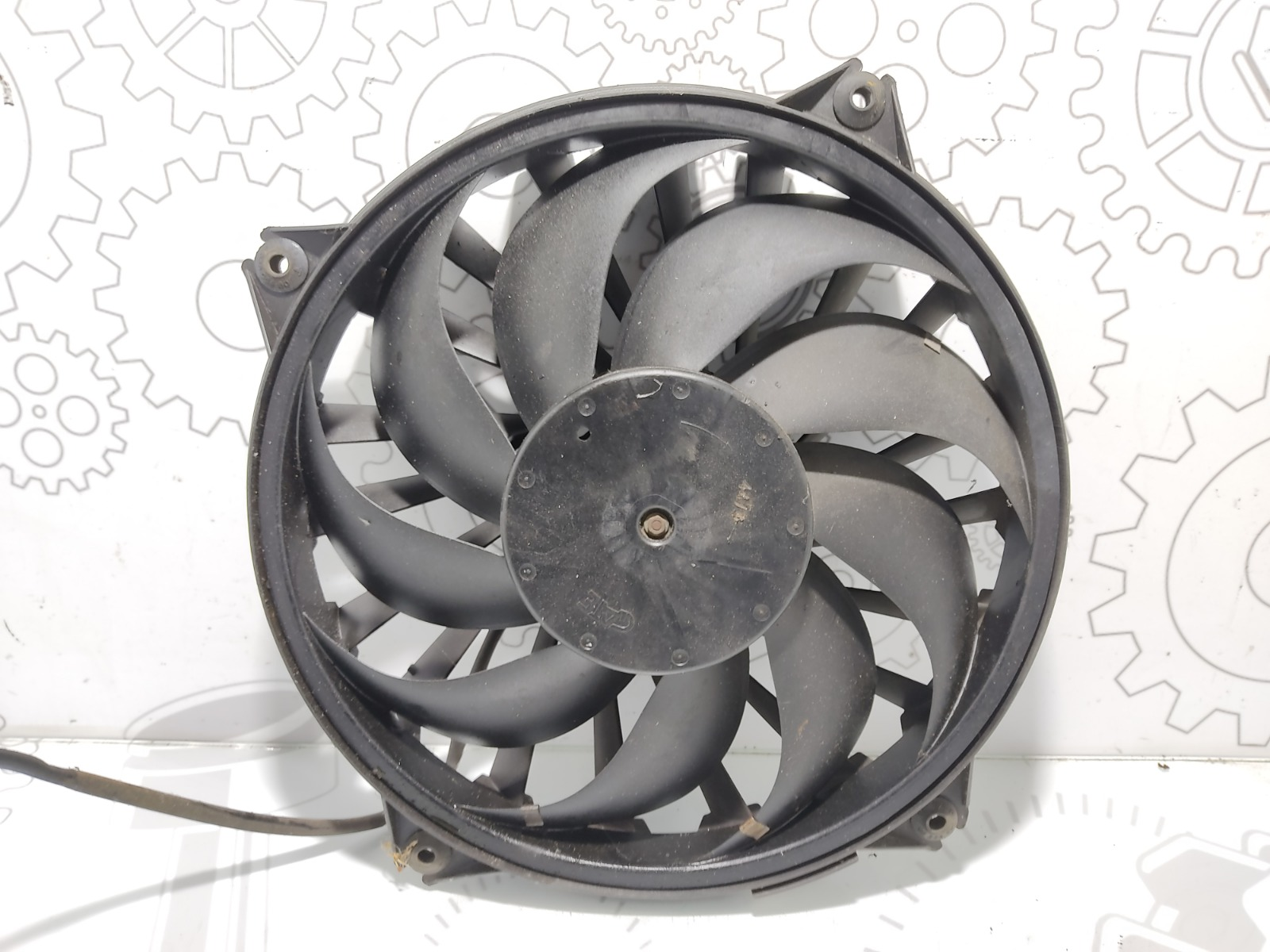 Вентилятор радиатора Fiat Ulysse 2.0 I 2005 (б/у)
