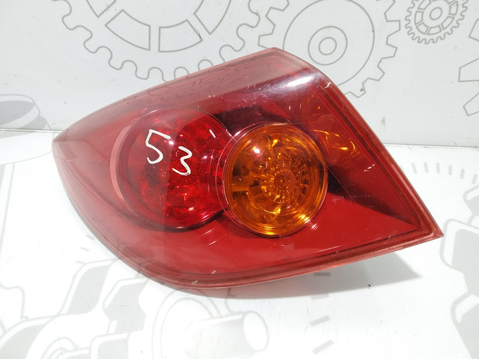 Фонарь задний левый Mazda 3 BK 1.6 I 2005 (б/у)