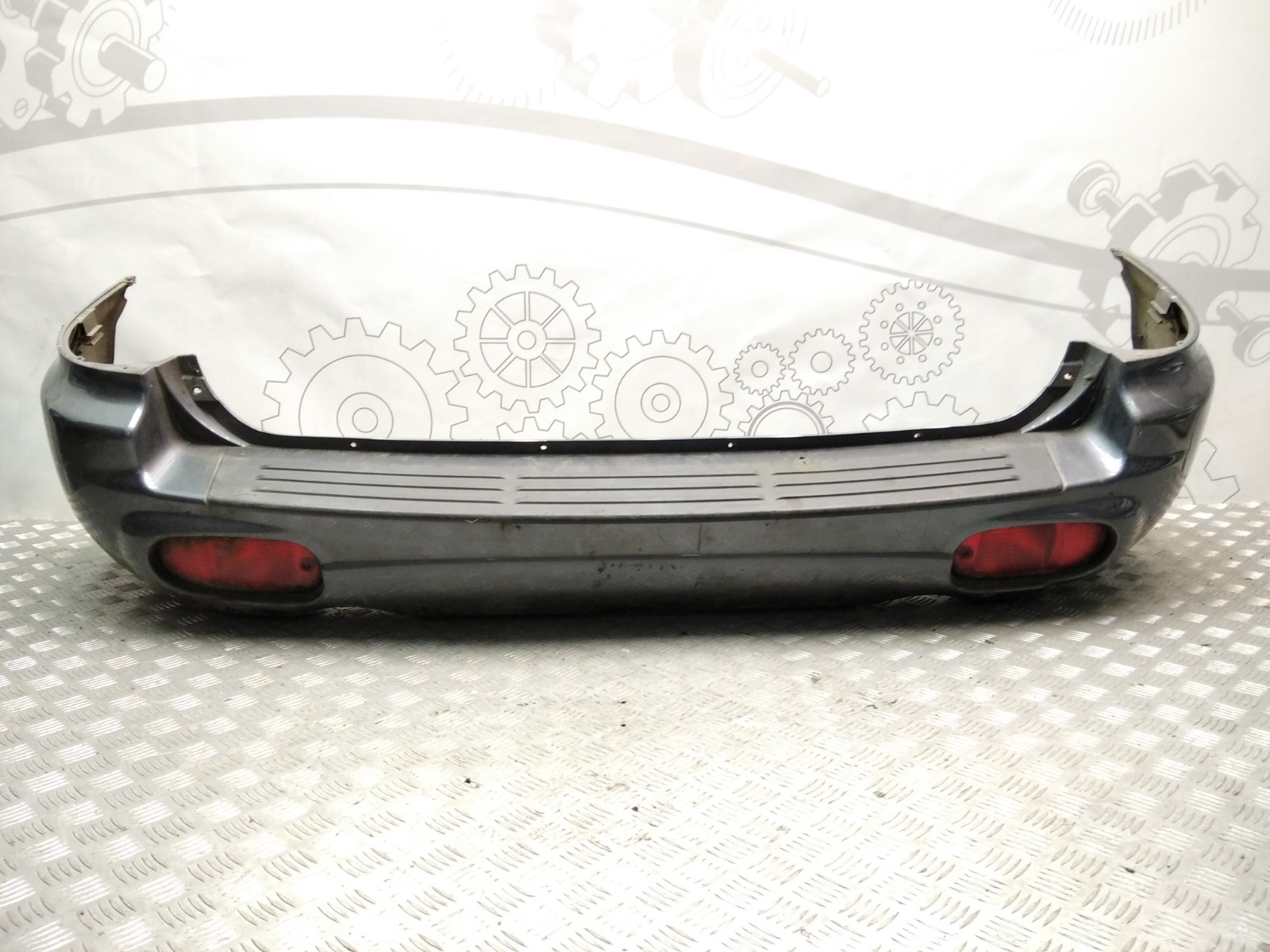 Бампер задний Hyundai Santa Fe 2.0 CRDI 2003 (б/у)