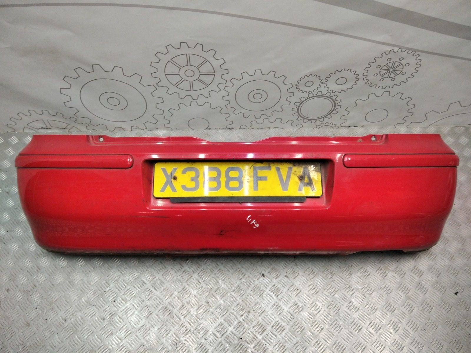 Бампер задний Volkswagen Polo 1.4 I 2000 (б/у)