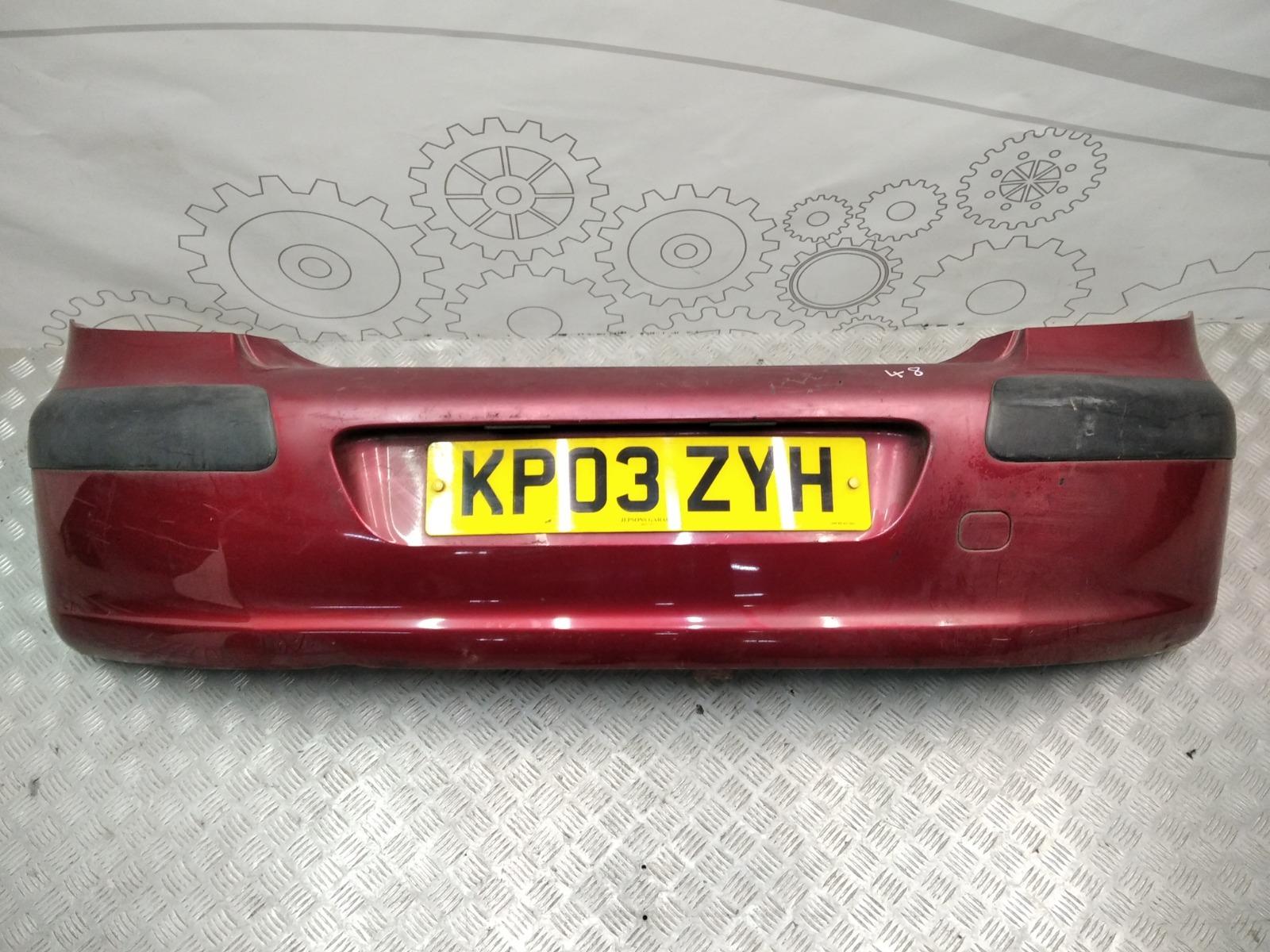 Бампер задний Peugeot 307 1.4 HDI 2003 (б/у)