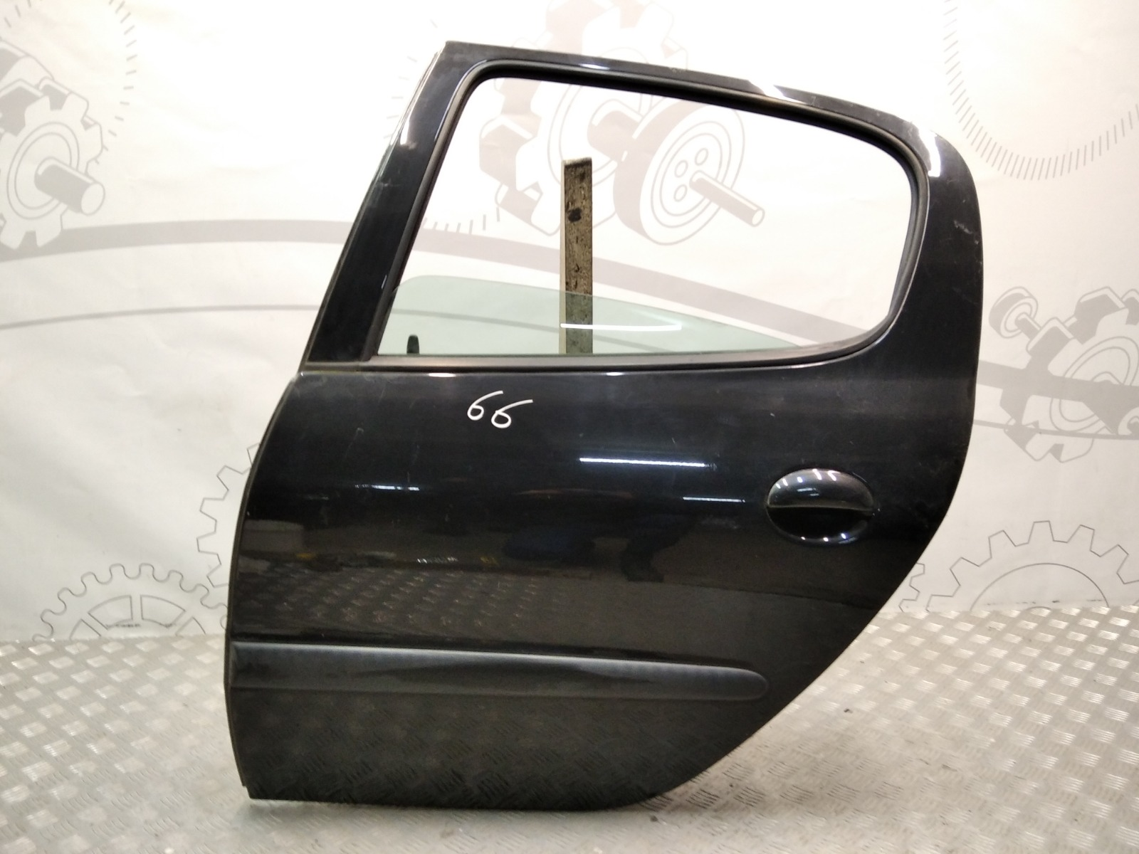Дверь задняя левая Peugeot 206 1.4 I 2003 (б/у)