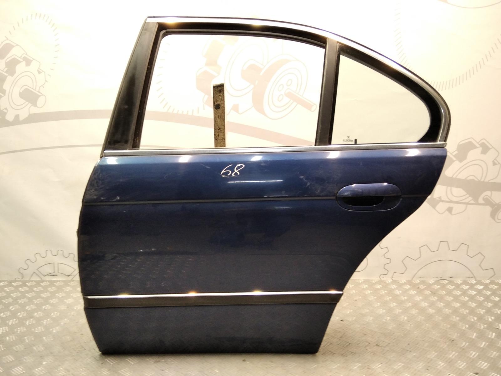 Дверь задняя левая Bmw 5 E39 2.5 I 2000 (б/у)