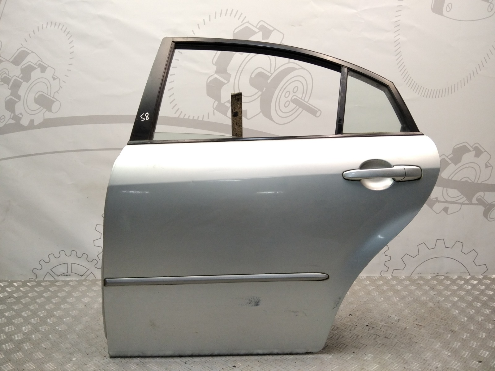 Дверь задняя левая Mazda 6 1.8 I 2005 (б/у)