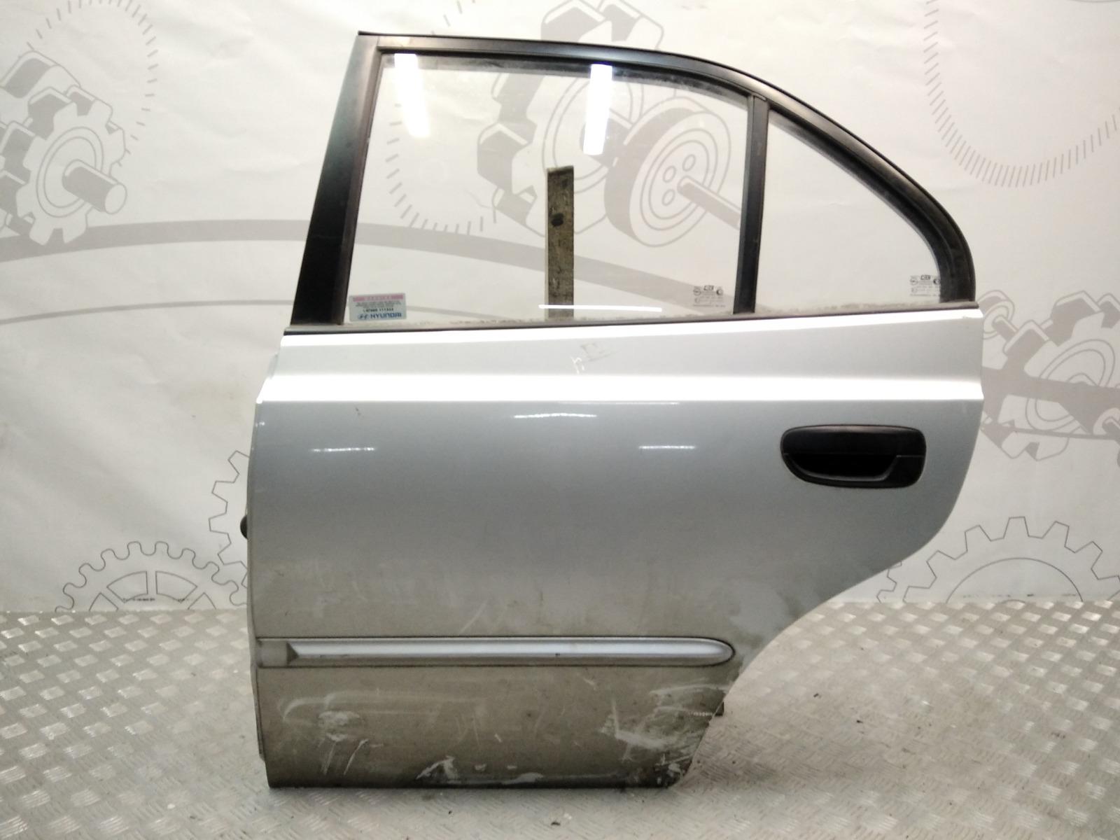 Дверь задняя левая Hyundai Accent LC 1.5 I 2000 (б/у)