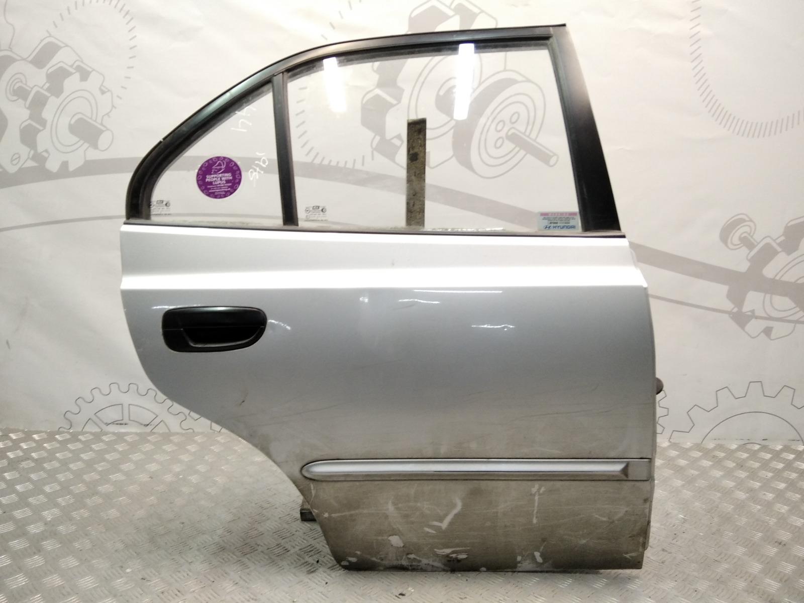 Дверь задняя правая Hyundai Accent LC 1.5 I 2000 (б/у)